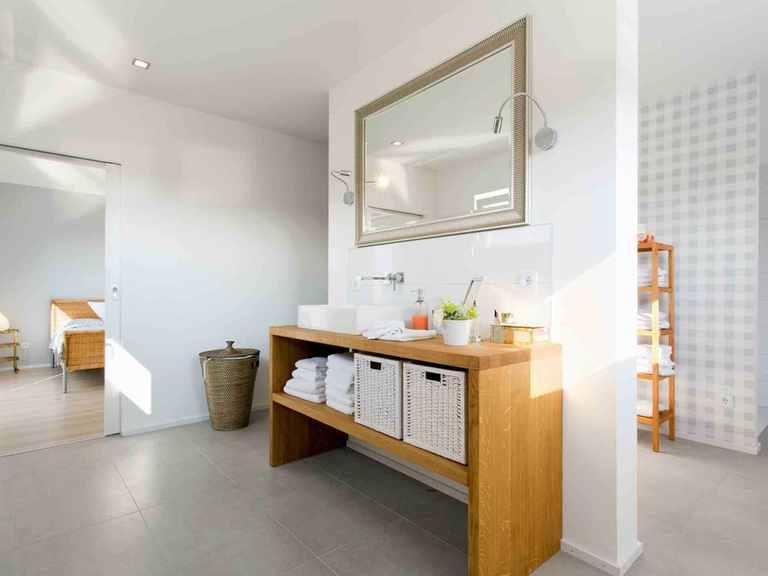 Kubus Haus Bela - Fingerhut Haus Badezimmer