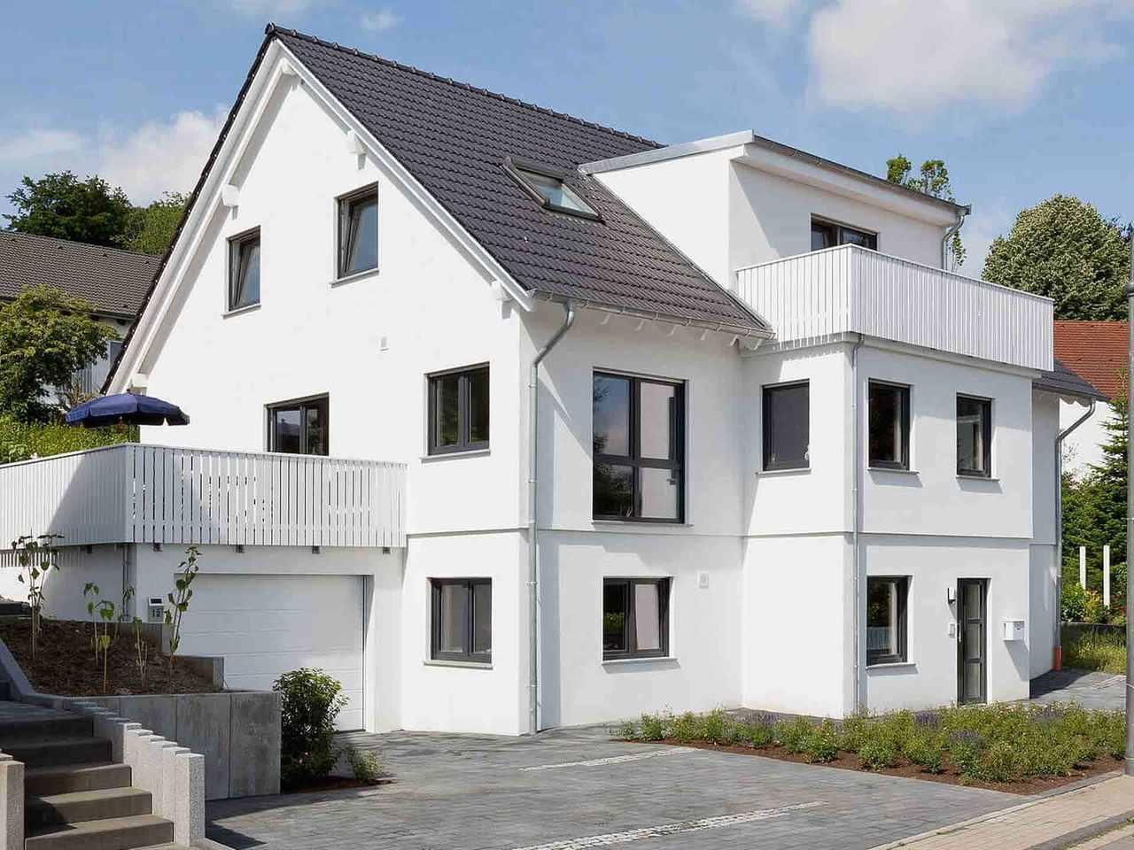 Mehrgenerationenhaus Bonvenon - Fingerhut Haus Seitlich
