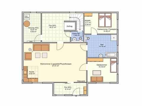 Mehrgenerationenhaus Bonvenon - Fingerhut Haus Grundriss DG