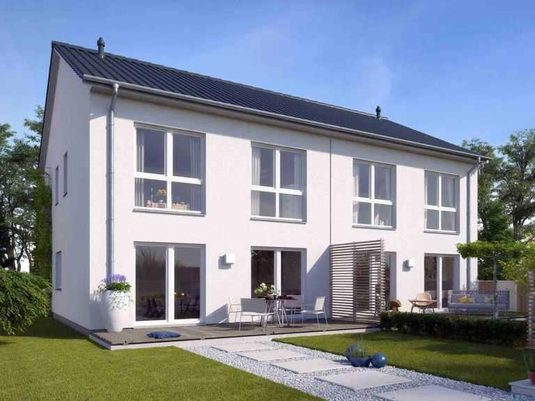 Doppel-Stadthaus 120 DH - NURDA-Hausbau