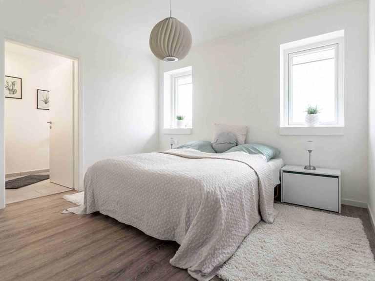 Musterhaus H-Bungalow Schleswig - Die HausCompagnie Schlafzimmer