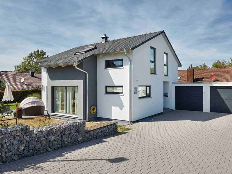 Landhaus Satteldach 143 Aussenansicht