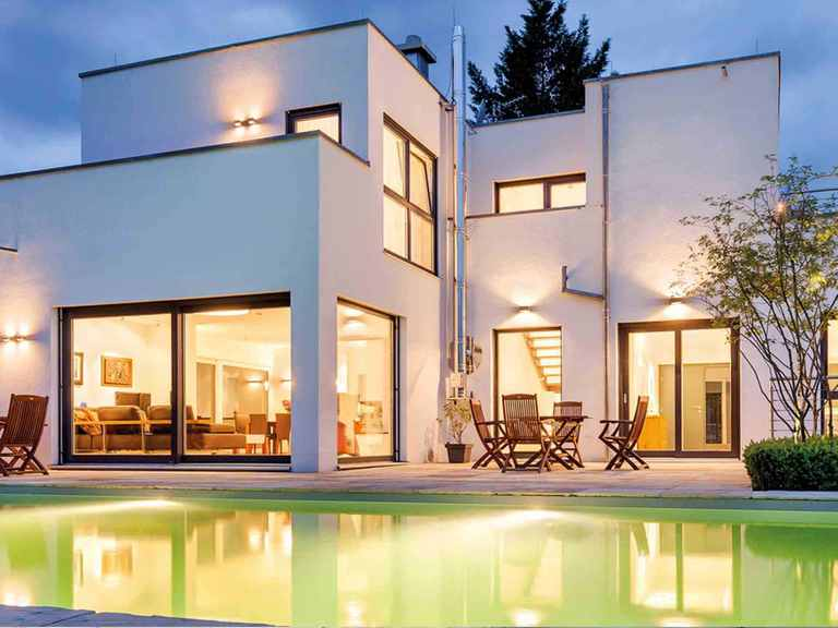 Kubus Haus Flachdach 283 - LUXHAUS