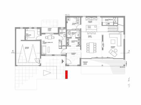 Musterhaus Köln - LUXHAUS Grundriss EG