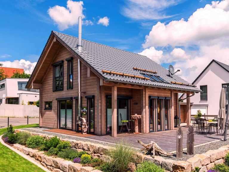 Holzhaus auf der Röth - Fullwood Wohnblockhaus