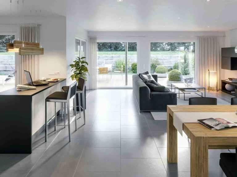 Bungalow AMBIENCE 88 V3 - Bien-Zenker Wohnbereich