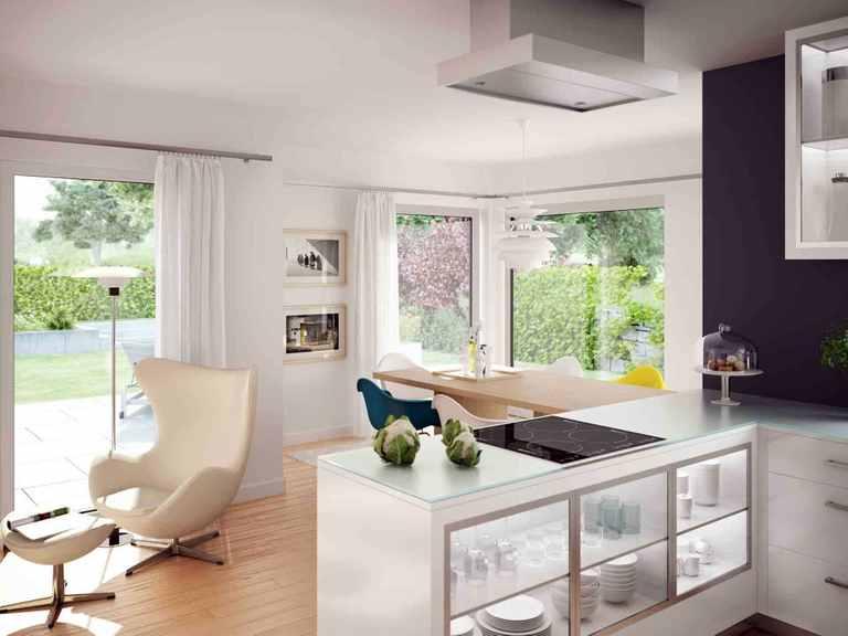 Einfamilienhaus EVOLUTION 124 V9 - Bien-Zenker Offene Küche