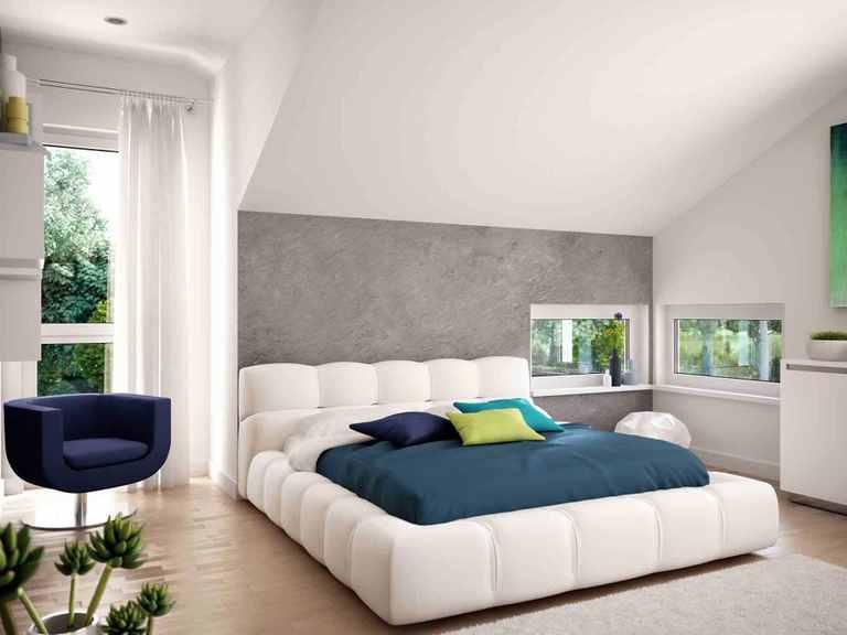 Einfamilienhaus EVOLUTION 124 V9 - Bien-Zenker Schlafzimmer