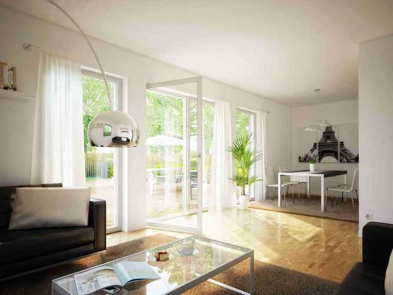 Einfamilienhaus EVOLUTION 124 V9 - Bien-Zenker Wohnbereich