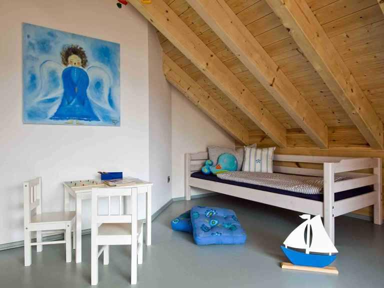 Musterhaus Havelland - Fullwood Wohnblockhaus Kinderzimmer