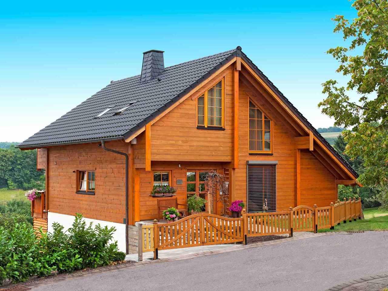 Musterhaus Dhrontalblick - Fulllwood Wohnblockhaus