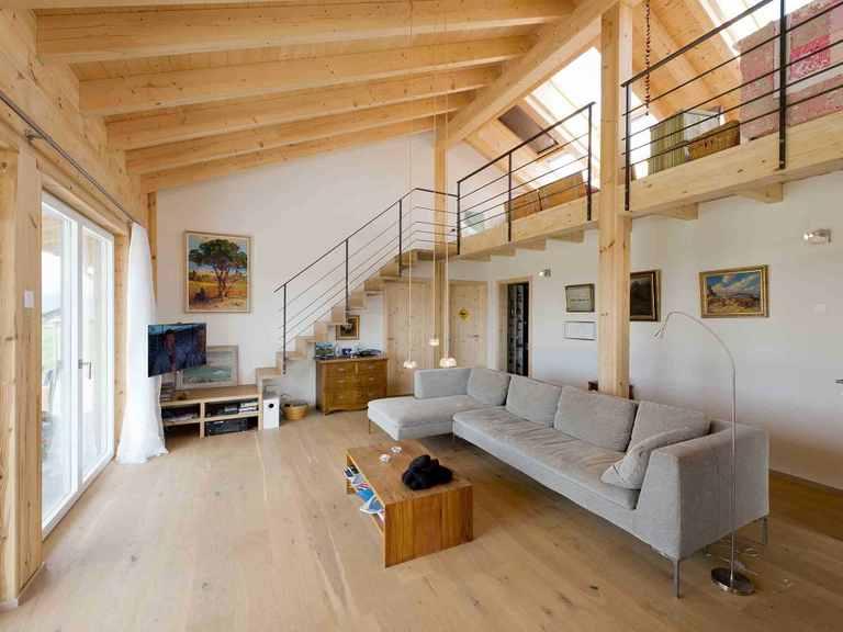 Musterhaus Sunnsite Wohnbereich