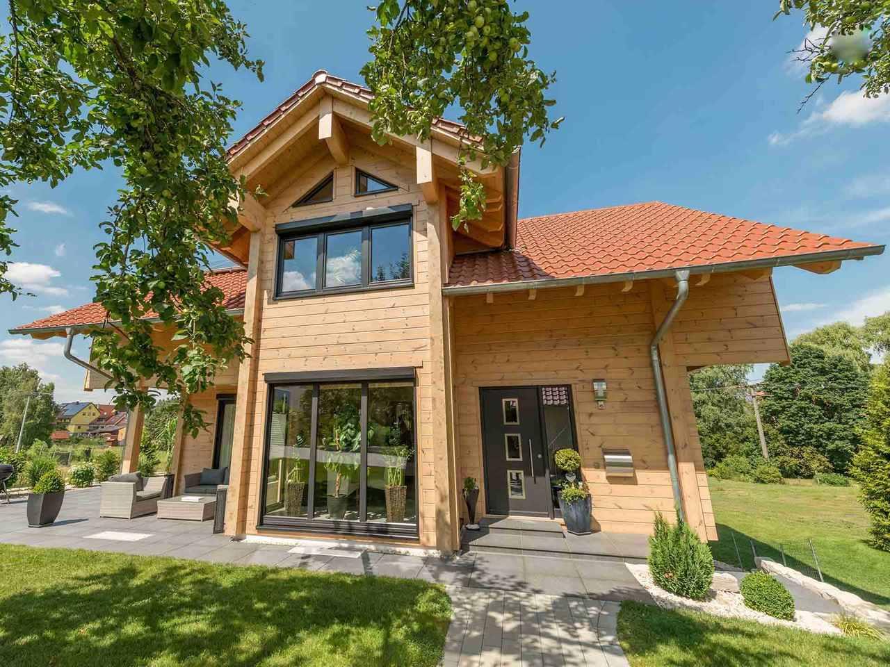 Holzhaus Mittelfranken - Fullwood Wohnblockhaus