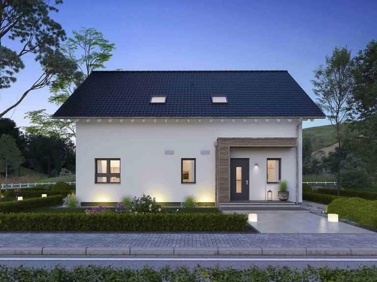 Doppelhaus FamilyStyle 24.01 Straßenansicht
