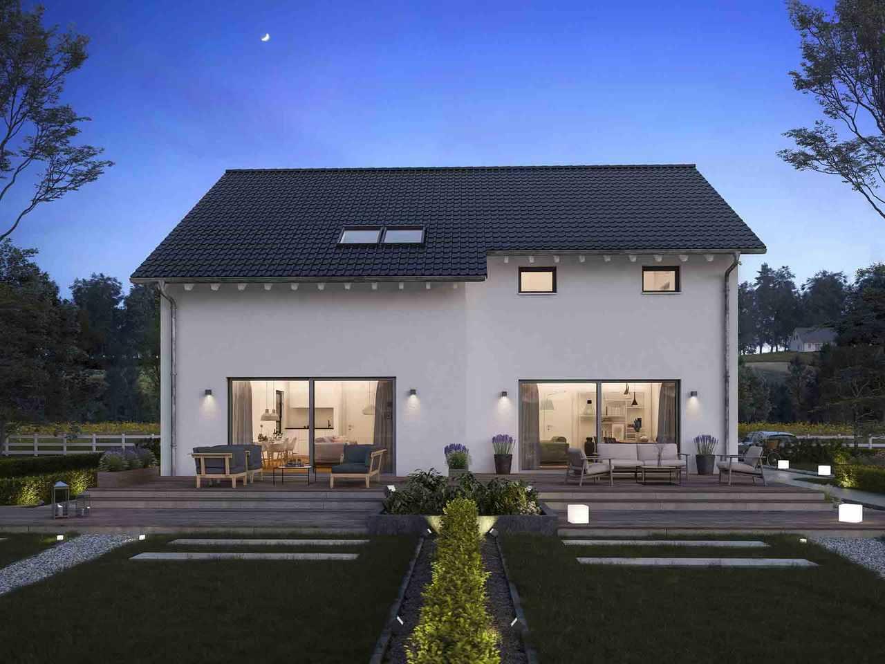 Doppelhaus FamilyStyle 24.01 - massa haus