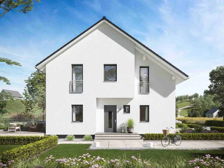 Doppelhaus FamilyStyle 24.01 Hauseingang 1