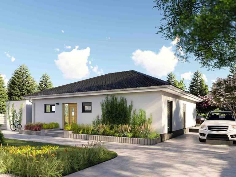 Bungalow Nizza - Laure Baubetreuung Gartenansicht