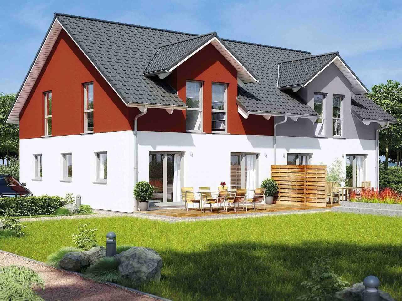 Doppelhaus 35-130 - HANSE HAUS