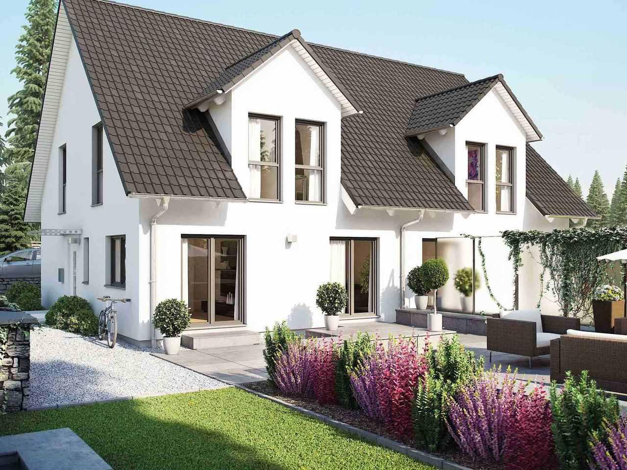 Doppelhaus 45-123 - HANSE HAUS