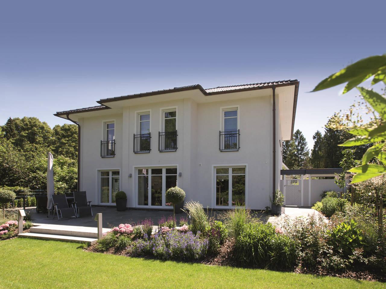 Stadtvilla Edition 470 Gartenansicht von Viebrockhaus