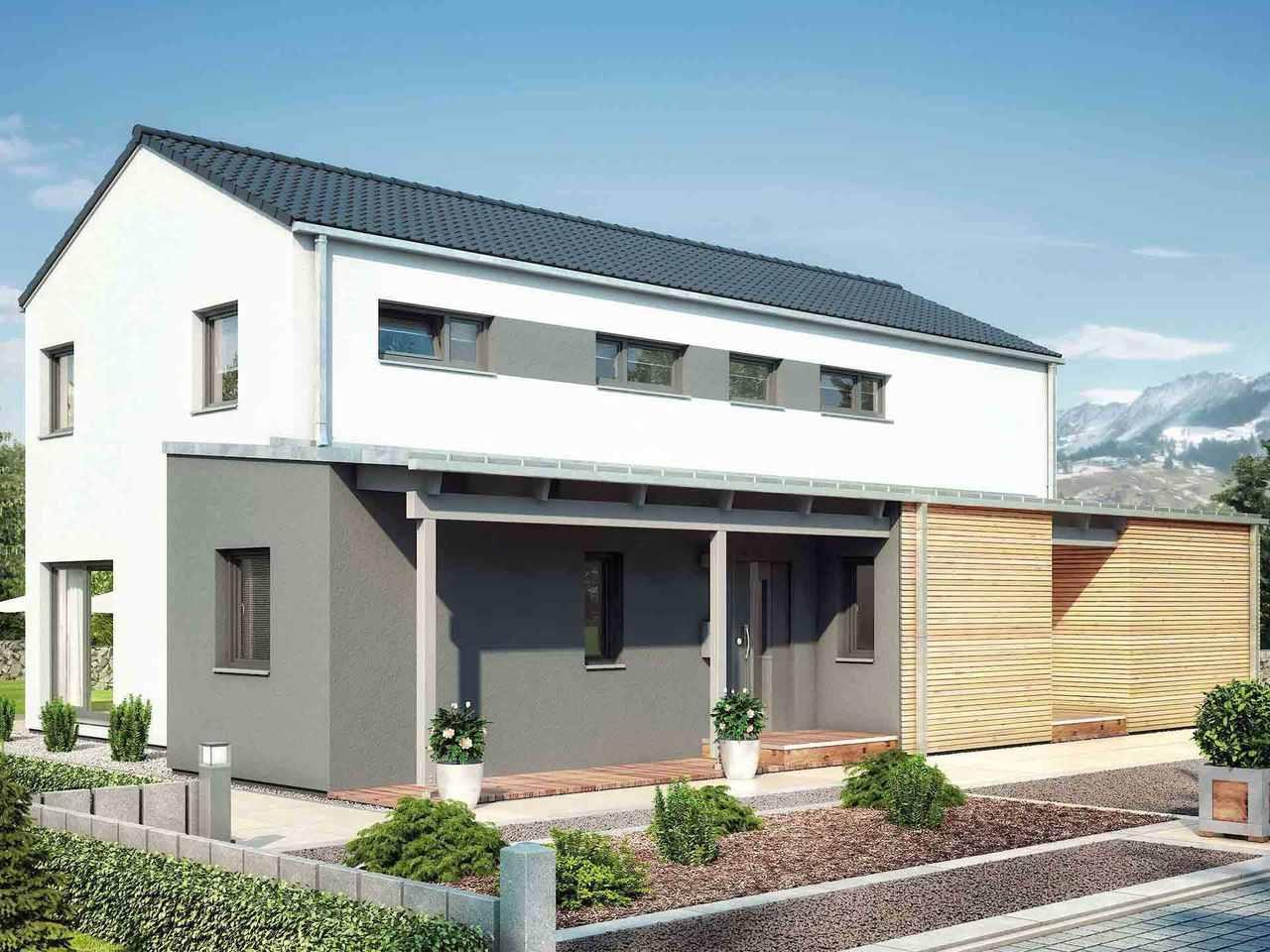 Mehrgenerationenhaus Duo 211 - HANSE HAUS