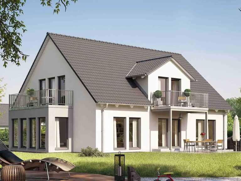 Zweifamilienhaus Duo 219 - HANSE HAUS