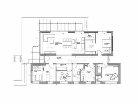 Musterhaus Fellbach - LUXHAUS Grundriss EG