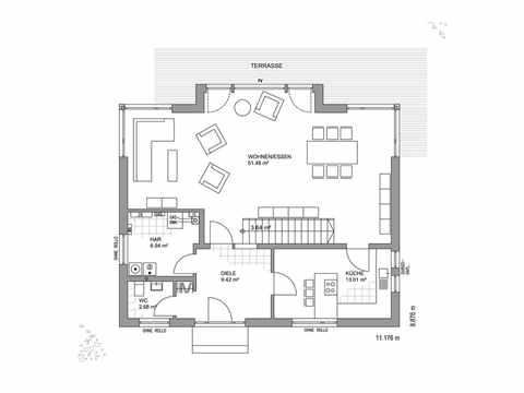 Musterhaus Hannover - LUXHAUS Grundriss EG