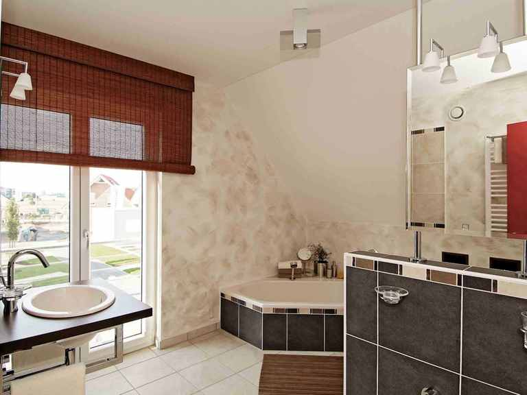 Musterhaus Hannover - LUXHAUS Badezimmer