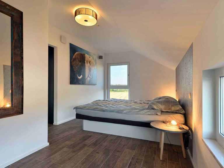 Landhaus Satteldach 126 - LUXHAUS Schlafzimmer