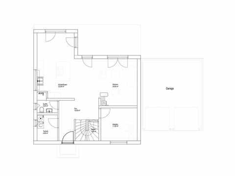 Landhaus Satteldach 151 - LUXHAUS Grundriss EG