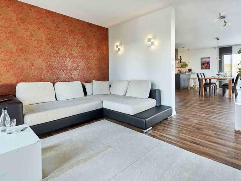 Stadtvilla Walmdach 187 - LUXHAUS Schlafzimmer