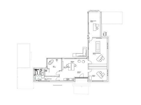 Flachdachhaus 170 - LUXHAUS Grundriss EG