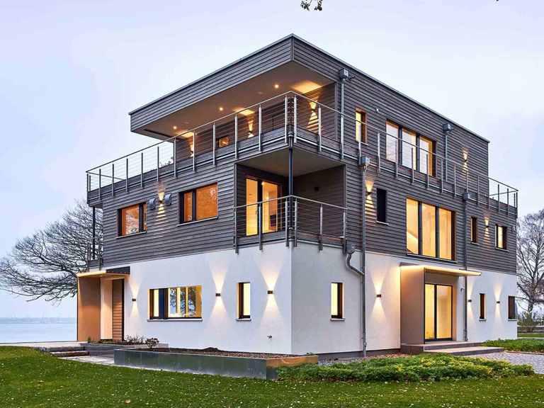 Bauhaus Mehrblick, Baufritz Seitenansicht