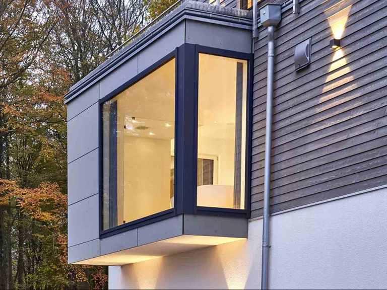 Bauhaus Mehrblick moderne Architektur