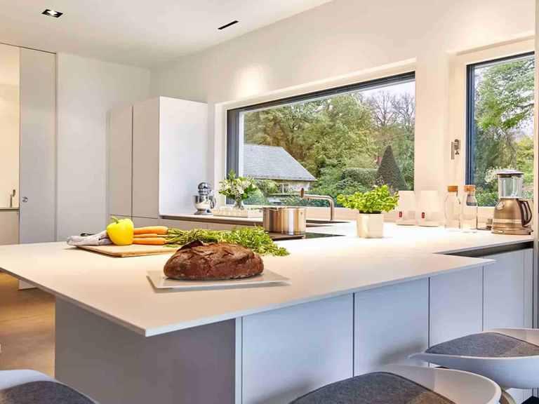 Bauhaus Mehrblick - Baufritz Offene Küche