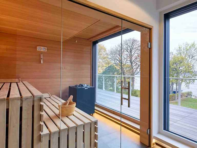 Bauhaus Mehrblick - Baufritz Sauna