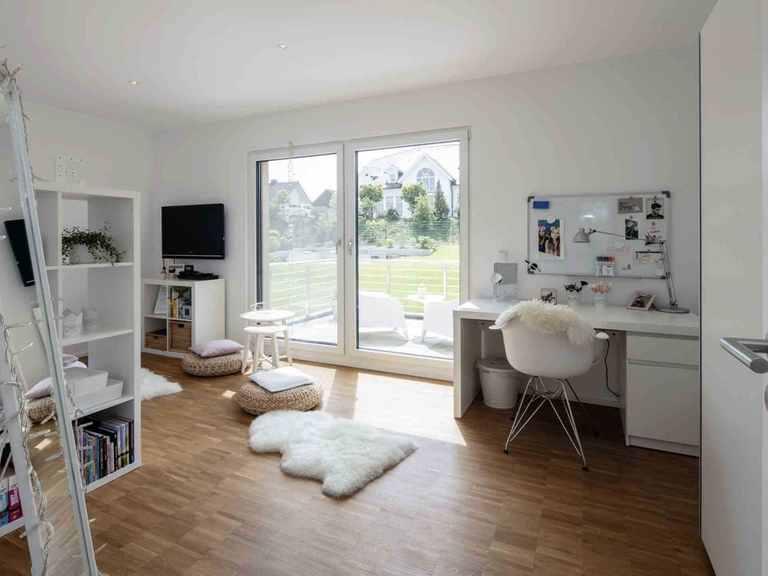 Einfamilienhaus im Grünen - WeberHaus Jugendzimmer