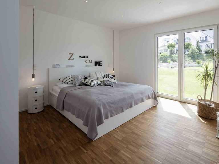 Einfamilienhaus im Grünen - WeberHaus Schlafzimmer