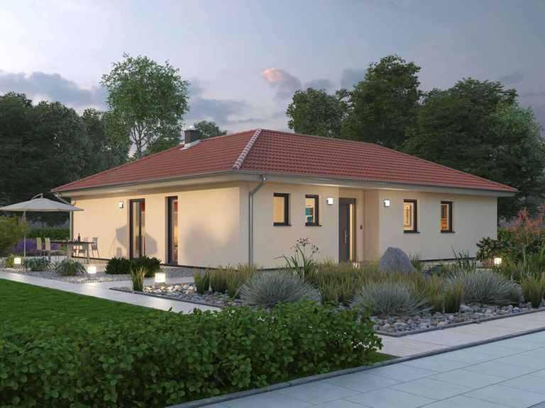 Bungalow BGL 122 - Ytong Bausatzhaus