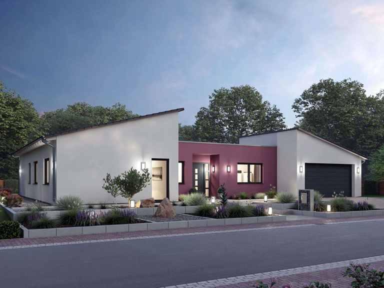 Bungalow BGL 168 - Ytong Bausatzhaus