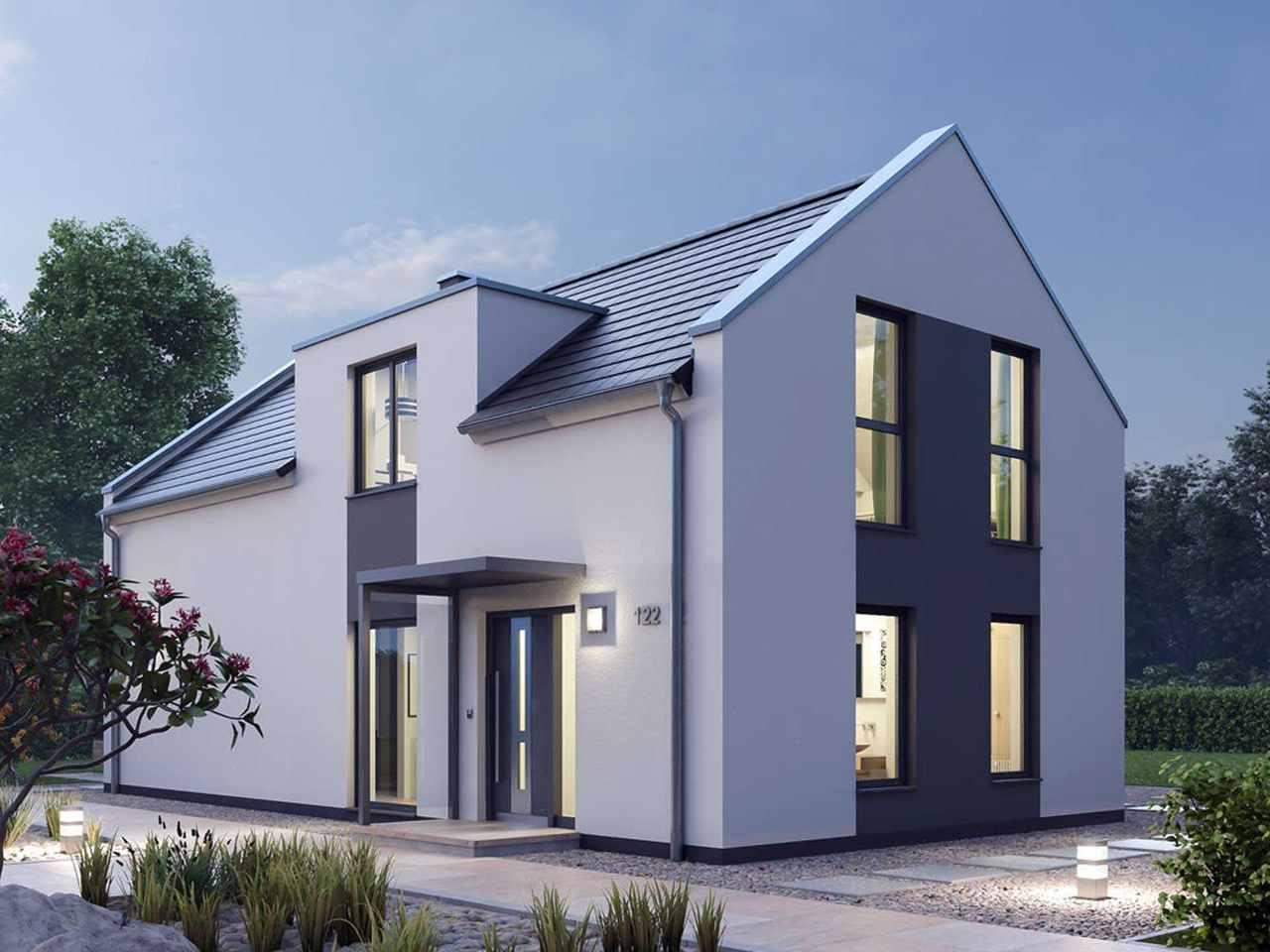 Einfamilienhaus 122 - Ytong Bausatzhaus