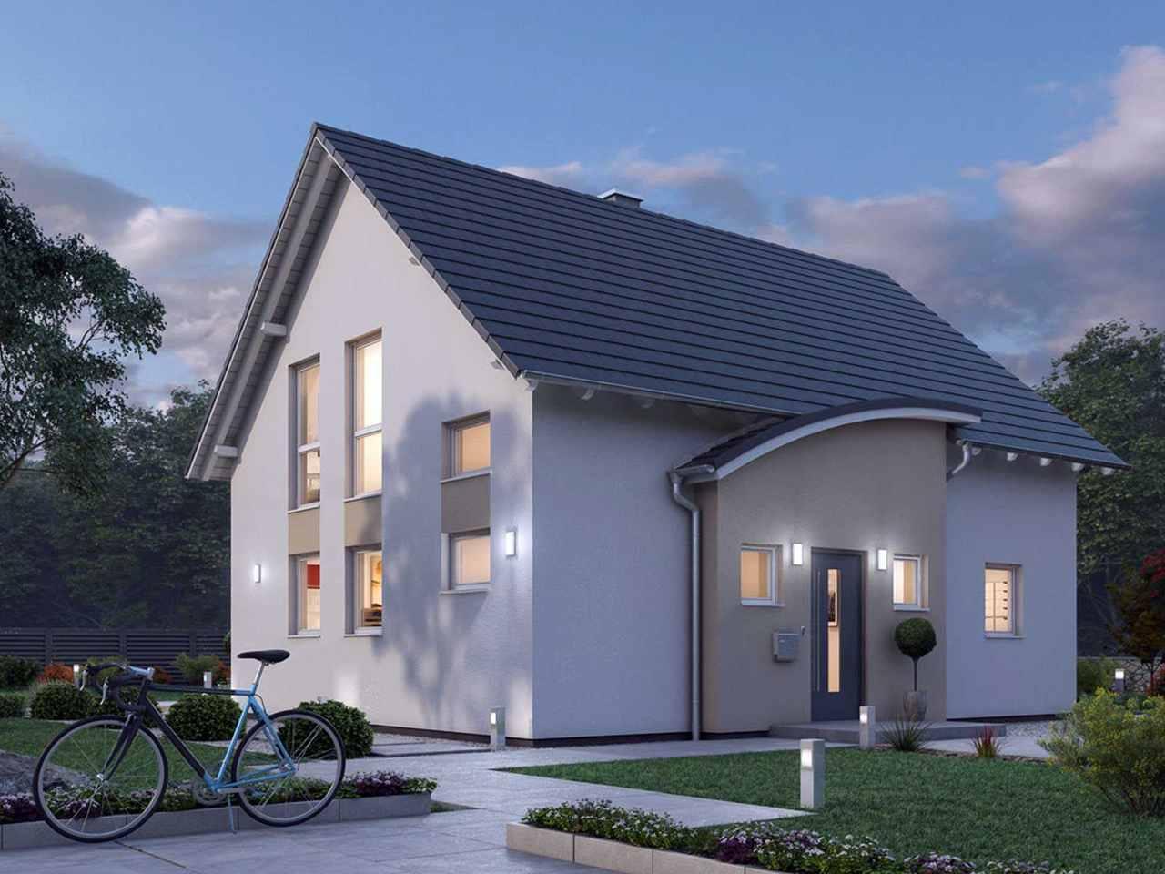 Einfamilienhaus 124 - Ytong Bausatzhaus