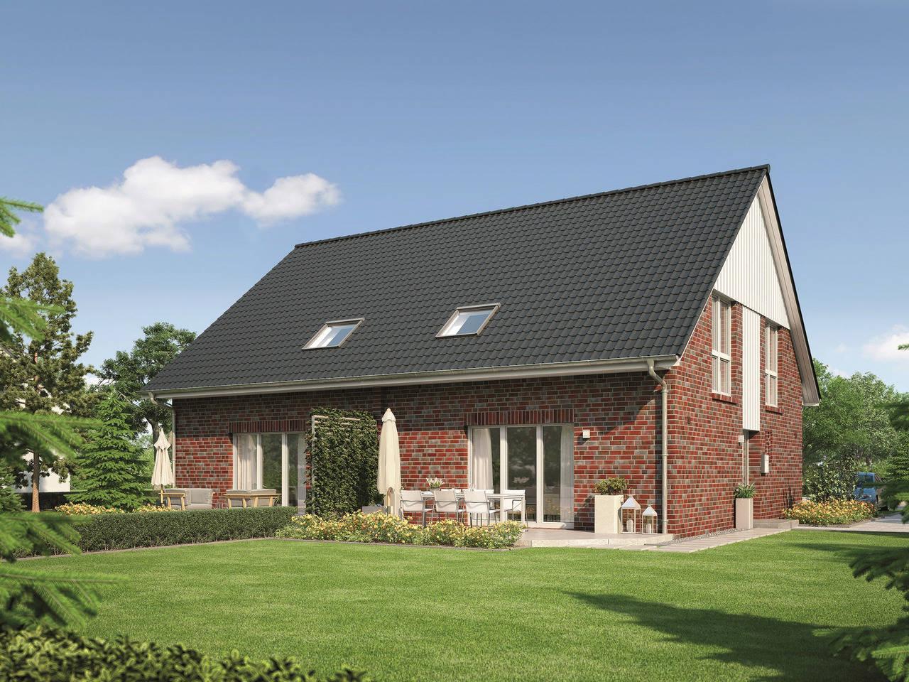 Haus Classico 800 D Ansicht 2 von Viebrockhaus