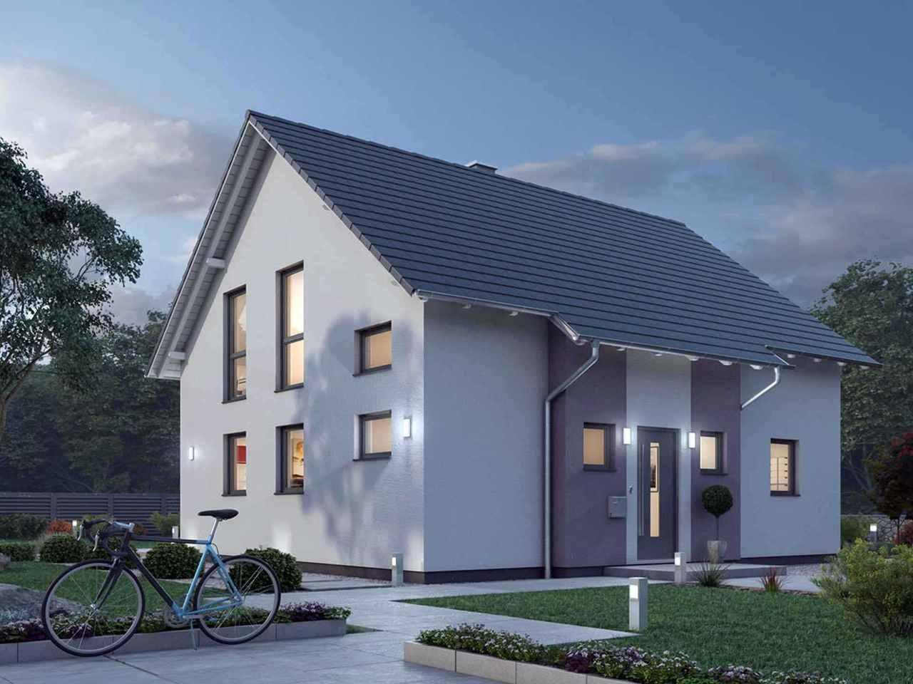 Einfamilienhaus 136 - Ytong Bausatzhaus