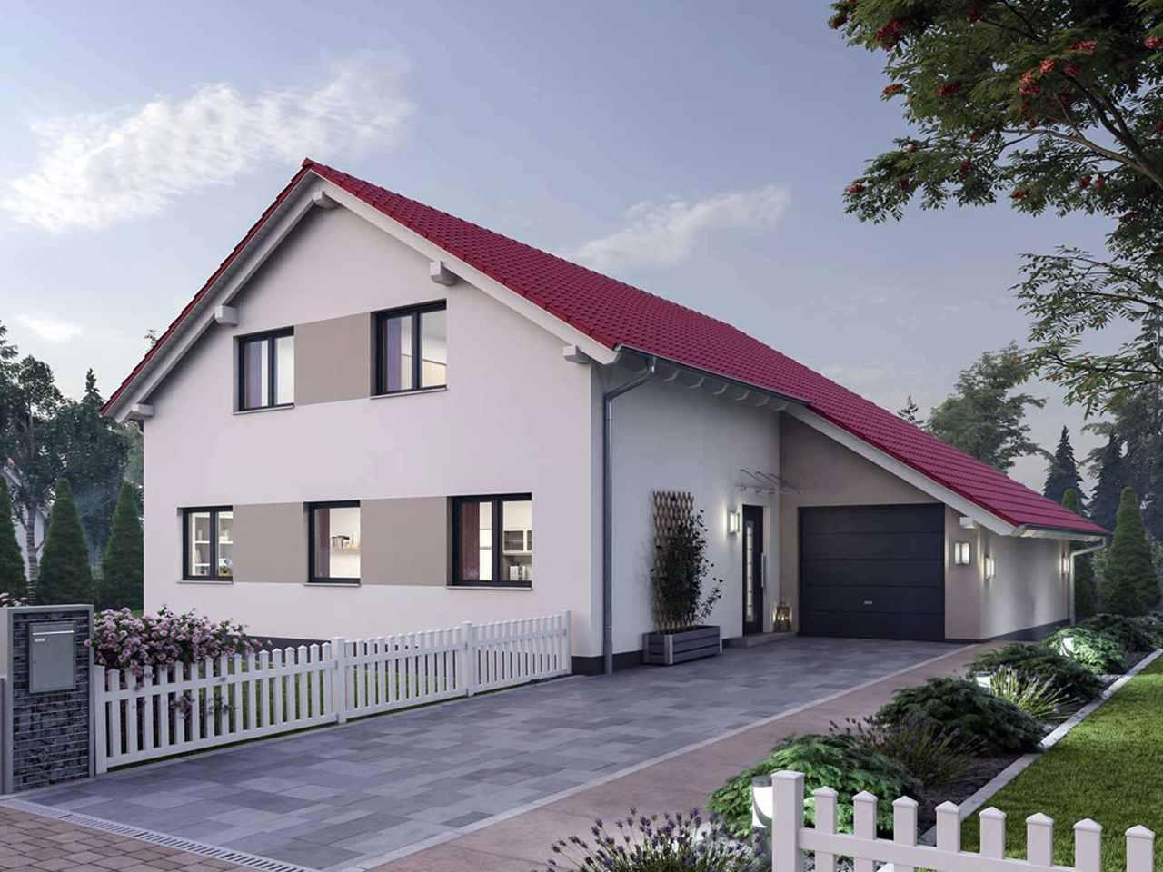 Einfamilienhaus 190 - Ytong Bausatzhaus