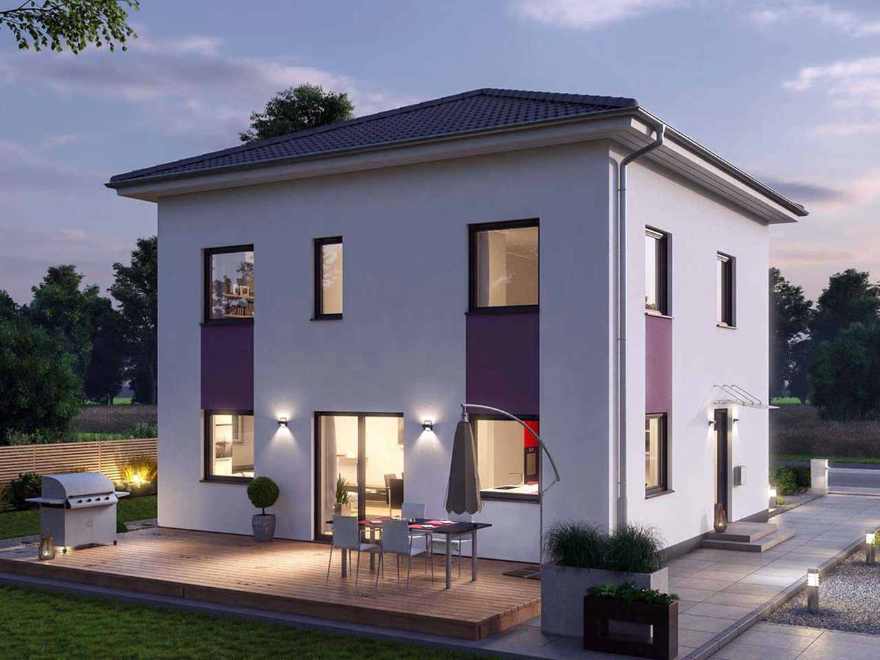 Stadtvilla 122 - Ytong Bausatzhaus