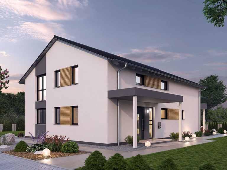 Zweifamilienhaus ZFH 244 - Ytong Bausatzhaus