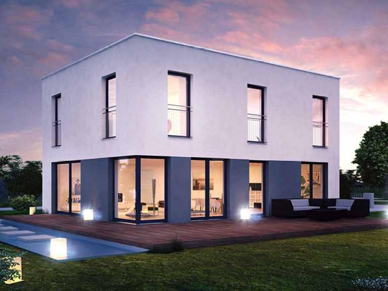 ICON 3+ City mit Flachdach - Dennert Raumfabrik