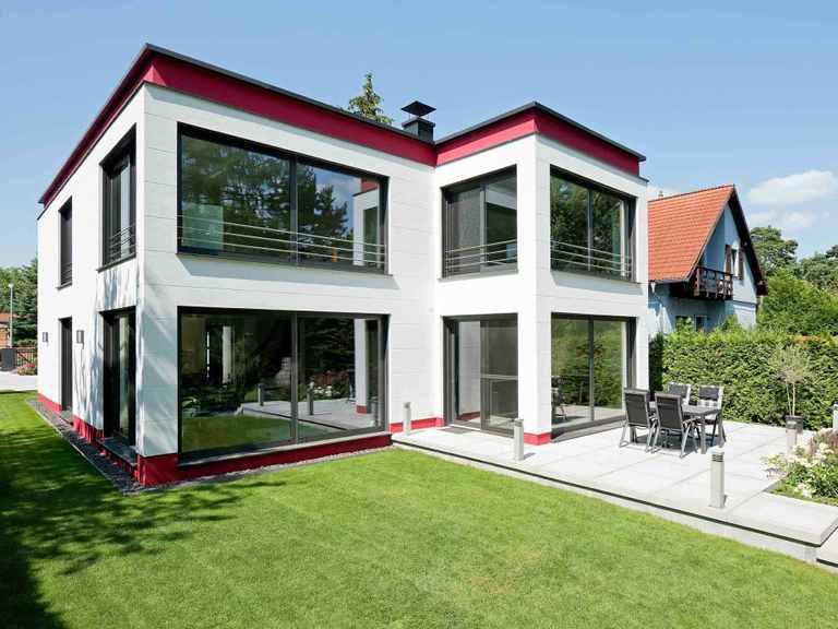 Bauhaus Cubatur 155 - Bau GmbH Roth Hamburg Terrasse